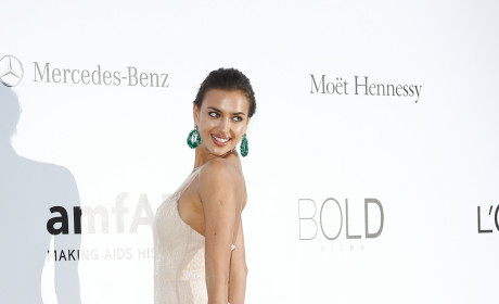 Irina Shayk in Cannes