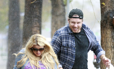 Jessica Simpson and Eric Johnson Photo