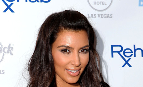 Kim Kardashian Gets Punk'd, Pretends to Be Shocked
