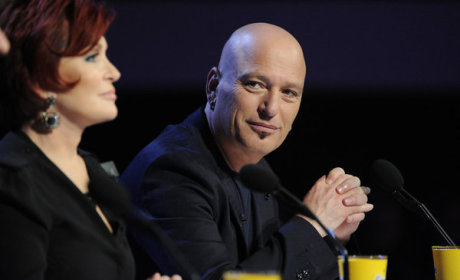 Howie Mandell on AGT