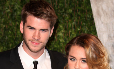 Liam Hemsworth and Miley Cyrus Photo