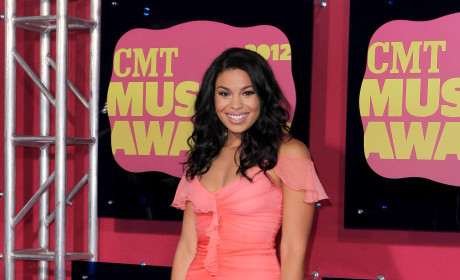 Jordin Sparks at the CMT Awards