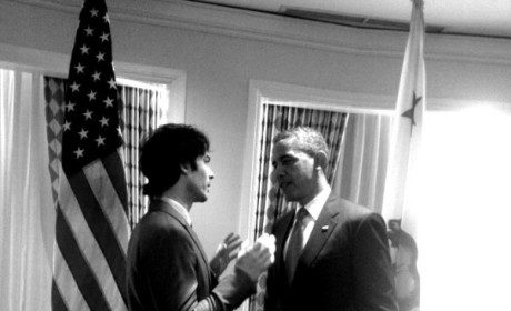 Ian Somerhalder, President Obama Talk Public Policy