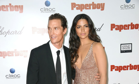 Matthew McConaughey and Camila Alves: Married!