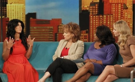Real Housewives of New Jersey Bring Feud to The View, Conduct Separate Interviews