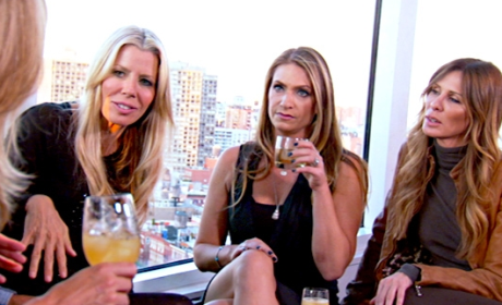 The Real Housewives of New York City Recap: Good Trip, Bad Fall