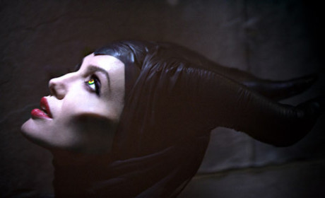 Angelina Jolie as Maleficent: First Photo!