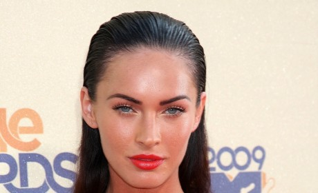 Do you like Megan Fox's slicked-back hairstyle?