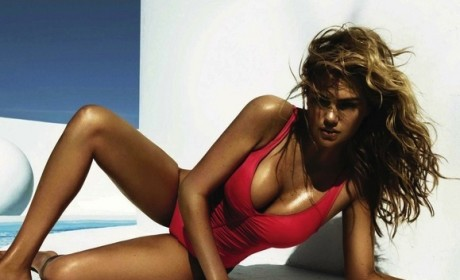Kate Upton Sizzles for Vogue Spain