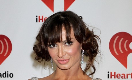 Karina Smirnoff Crazy Hair