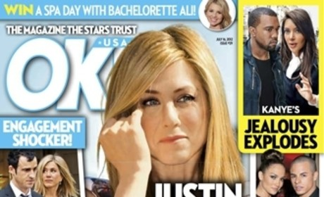 Jennifer Aniston REJECTS Justin Theroux Marriage Proposal ... According to Tabloid