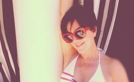 Kris Jenner Bikini Pic