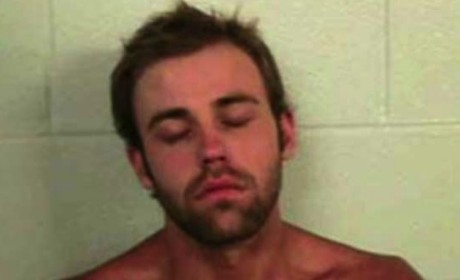 Weston Gosa, 16 & Pregnant Baby Daddy, Passes Out in Mid-Mug Shot After DUI Arrest