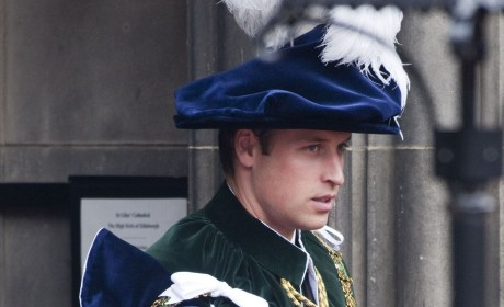 Prince William: Knighted in Scotland!
