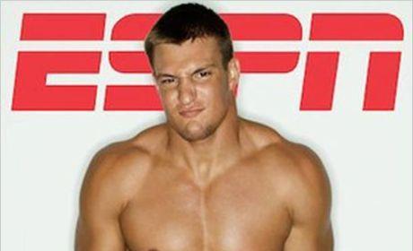 Rob Gronkowski: Nude for ESPN the Magazine!