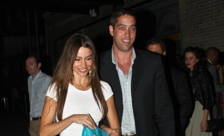 Sofia Vergara and Nick Loeb Photo