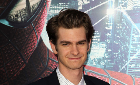 Andrew Garfield at Spider-Man Premiere