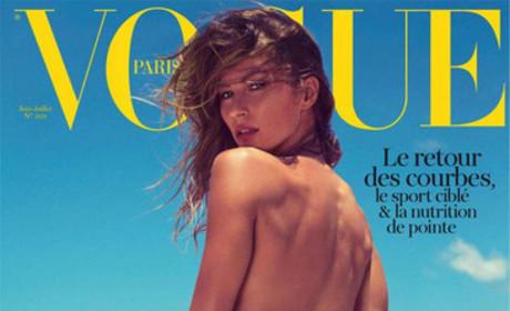 Gisele Vogue Paris Cover
