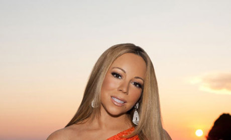 Mariah Carey Poses for First American Idol Promotional Photo