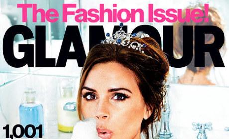 Victoria Beckham Glamour Cover