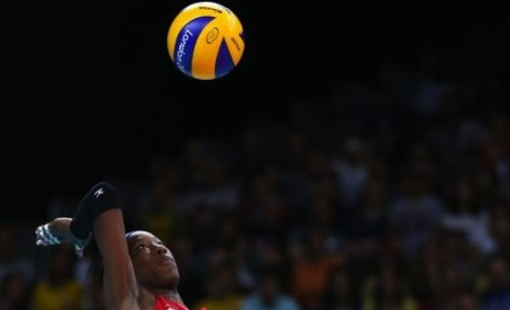 Destinee Hooker Leads U.S. to Volleyball Win Over China