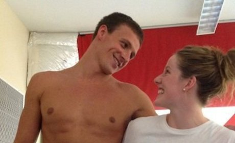 Ryan Lochte and Missy Franklin
