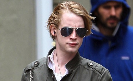 Macaulay Culkin: Out, About, Not on Drugs