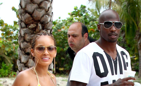 "Chad ""Ochocinco"" Johnson, Evelyn Lozada"