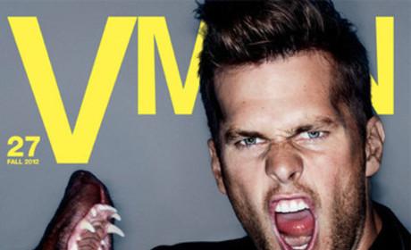 Tom Brady VMAN Cover