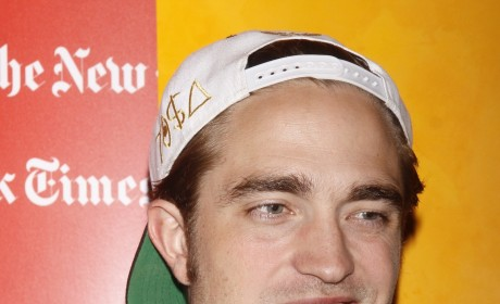 Robert Pattinson with a Hat