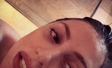 Lady Gaga Brown Hair