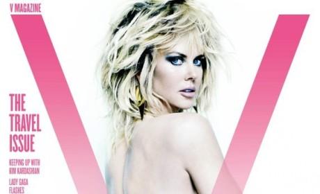 Nicole Kidman: Topless in V Magazine!