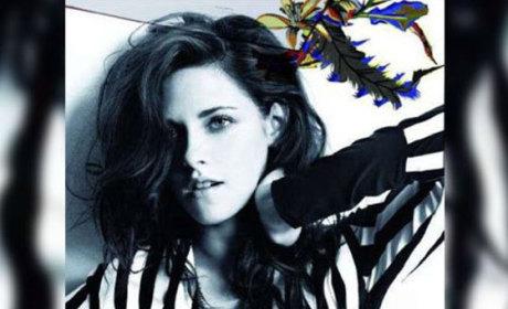 Kristen Stewart Balenciaga Poster
