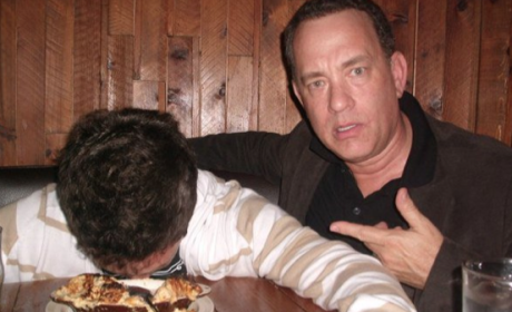 Tom Hanks Drunk Fan Photo