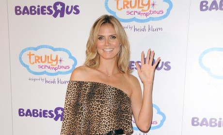 Heidi Klum Red Carpet Pic