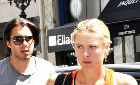 Maria Sharapova and Sasha Vujacic: Engaged!