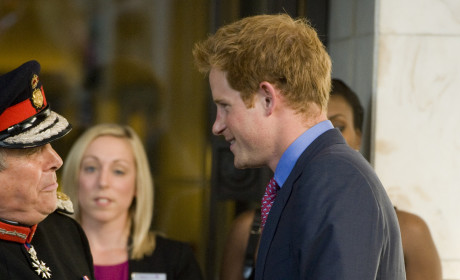 Clothed Prince Harry Surfaces at WellChild Awards