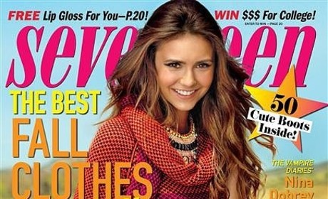 Nina Dobrev Seventeen Cover