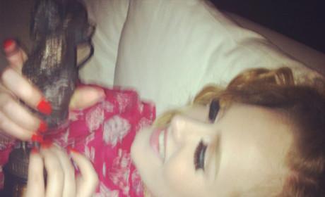 Adele Twitpic