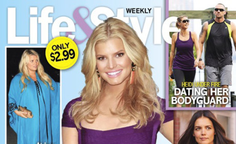 Jessica Simpson Post-Pregnancy Body: Revealed in Fake Photo By Tabloid!!!