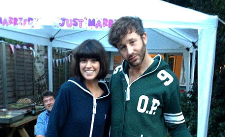 Chris O'Dowd and Dawn Porter: Married!