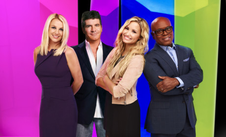 "Simon Cowell Slams The Voice as ""Unprofessional,"" Fuels Britney vs. Christina Feud"