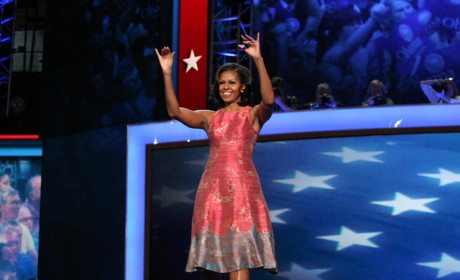 Michelle Obama at the DNC