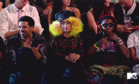 Drake, Nicki Minaj and Lil Wayne