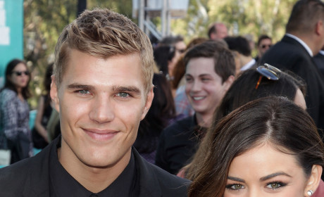 Chris Zylka and Lucy Hale