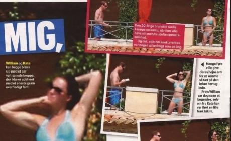 Kate Middleton Bikini Shots