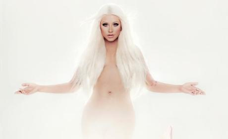 Christina Aguilera: Naked for New Album Cover!