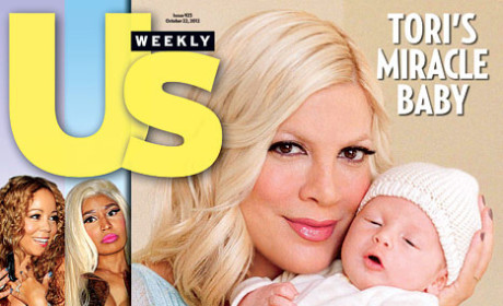 Tori Spelling Debuts Baby Son!