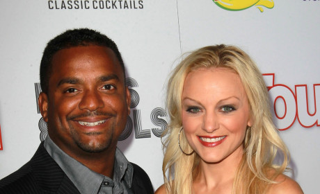 Alfonso Ribeiro and Angela Unkrich: Married!