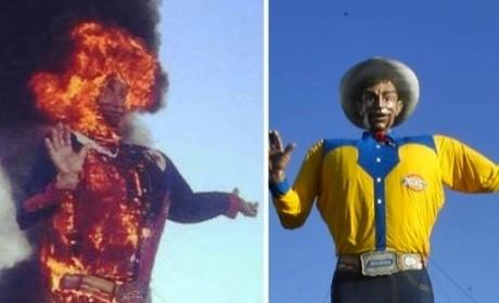 Big Tex: On Fire!